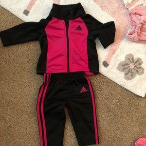 Infant 3 month adidas track suit